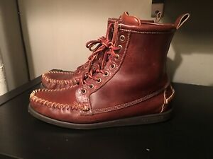 Sebago X Ronnie Fieg Campside Lace Up Chukka Moccasin Boots Brown Size 10