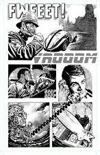 THE IRON SKULL' PAGE 5 - ORIGINAL ART BY ROB MORAN
