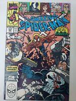 THE AMAZING SPIDER-MAN #331 (1990) MARVEL COMICS ERIK LARSEN! VENOM! PUNISHER!