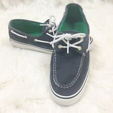 Sperry Boat Shoes Women's Canvas Shoes - Size 9M - Navy Blue
