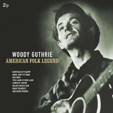 WOODY GUTHRIE - AMERICAN FOLK LEGEND 180 GRAMM, ORIGINAL  2 VINYL LP NEW+