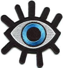 Eye eyeball tattoo wicca occult goth punk retro applique iron-on patch S-1045