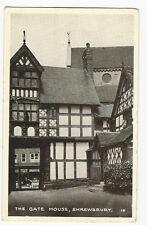 Shropshire - The Gate House, Shrewsbury - Posted 1950
