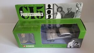corgi the professionals ford capri ci5 with figures diecast model car