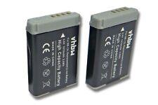 2x Akku für Canon Powershot G9X Mark II, SX620 HS 1010mAh 3.7V Li-Ion