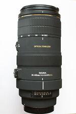Sigma EX 80-400mm f4.5-5.6 APO DG OS Canon EF