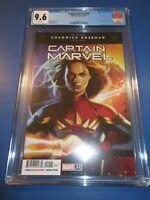 Captain Marvel #22 Awesome A Cover CGC 9.6 NM+ Gem 1st Sora Key Boseman Tribute