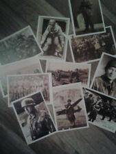 8 x Feldpostkarte der Fallschirmspringer