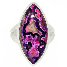 Mexican Laguna Lace 925 Sterling Silver Ring Jewelry s.7.5 AR181889