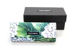 New Case Dolce Gabbana Sunglasses Floral Hard D G Eyeglasses Magnetic Flip D&G
