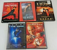 Lot of 5 Jet Li Action Movies (Dvd, 5-Discs) Ws Romeo Master Hero One Fearless