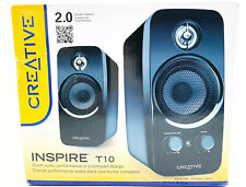 Creative Inspire T10 Computer Speakers With BasXport Technology