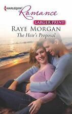 Harlequin LP Romance: The Heir's Proposal 4357 by Raye Morgan (2013, Paperback,…