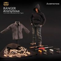 """VORTEXTOYS 1/12 Scale Ranger Anonymous Male Action Figure 12"""" Doll Toys V00012"""