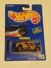 Hot Wheels Hummer Blue Card 188