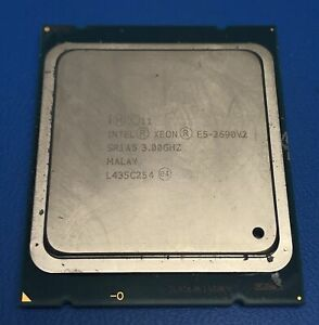 Intel Xeon E5-2690V2 SR1A5 10 Core 3.00GHz 25MB 8 GT/S Processor