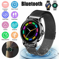 Waterproof Smart Watch Heart Rate Monitor Blood Pressure Oxygen for Android IOS