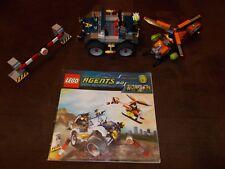 LEGO ® agent 2.0 - 8969-Course poursuite sur quatre roues-Avec de recette (BA)