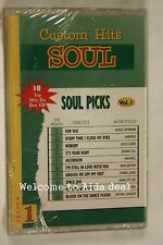 10 custom soul hits volume 1(Audio Cassette Sealed)