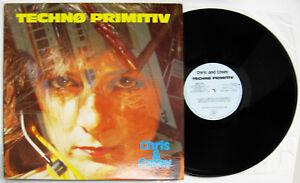 Chris & Cosey Techno Primitiv LP first issue Rough Trade 1985 NEAR MINT VINYL