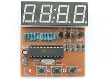 DIY electronic Kit - Digital Clock AT89 Microcontroller chip mcu LED 8051 US