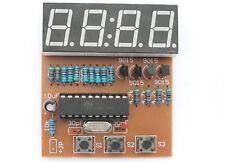 DIY electronic Kit - Digital Clock AT89 Microcontroller chip mcu LED 8051 US