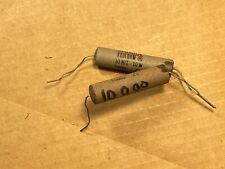 2 NOS Vintage Sprague Koolohm 10k ohm 10W watt Ceramic Power Resistors