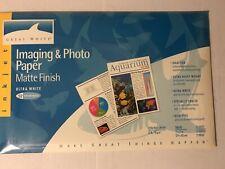 2- inkjet Imaging & Photo paper - Matte Fin.- Tabloid 11 X 17 size - 25 sheets