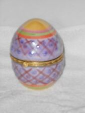 "Collectible Decorative Egg 4.5"" Trinket Box"