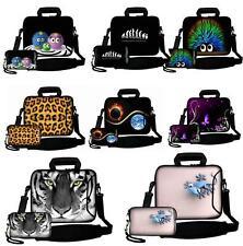 "LUXBURG® 10""-17"" Laptop Soft Bag with Handle and Shoulder Strap+Free Camera Bag"