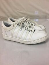 K-Swiss Classic White Children's Shoes Leather Sneakers Size 1