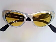 NEW GUCCI AUTHENTIC SUNGLASSES GG 3807/S U47-HO MOTHER OF PEARL / BLACK YELLOW