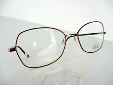 Silhouette Titanium 3506 - 6053 (Taupe / Cognac) 53 x 17 130 mm Eyeglass Frames