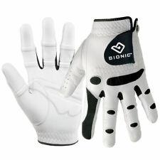 Bionic Mens StableGrip Leather Golf Gloves Orthopedic - LH 28% OFF RRP