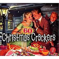 60 CHRISTMAS CRACKERS (Frank Sinatra, Chuck Berry, Louis Armstrong) 3 CD NEUF
