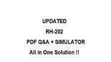 Red Hat Certified Technician On Redhat Enterprise Linux 5 Exam Qa Pdf&Simulator