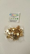 Press Studs Snap Fasteners Sewing Rivets Leather Craft Sewing (BEE HK 406) x 12