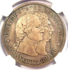 1900 Lafayette Silver Dollar $1 - NGC AU Details - Rare Certified Coin!