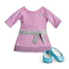 American Girl Lilac Dress and Shoes for Doll NEW Truly Me Meet Outfit NIB