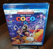 Disney Pixar's Coco (Blu-ray+DVD+HD Digital Code)NEW-Free Shipping with Tracking