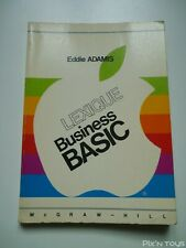 Apple Lexique Business Basic Eddie Adamis [ Version Française ]