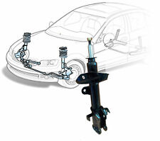 1x Front Shock Absorber Audi A3 03 on Seat Altea 04 on Leon Toledo 22mm x 50mm