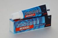 HEXIGEL- Chlorhexidine Gluconate(1%) gel- antiseptic mouth gel-15 Grams Freeship