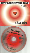 BEE GEES remake Cover TALL BOY how Deep is your Love EDIT & MIXES CD single 1996