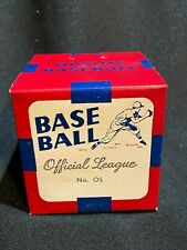 Vintage 1950's Official League Baseball - Sealed in Box - MINT
