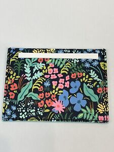 Rifle Paper Anthropologie Collaboration Card Case Meadow Floral Wallet