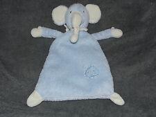 TOPOLINO BLUE ELEPHANT COMFORTER SOFT TOY BABY BLANKIE DOUDOU