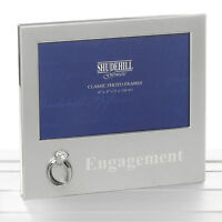 "Engagement Gift Photo Picture Frame  6x4""  NEW 17907"