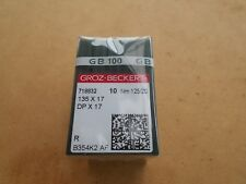 Industrial Needles to Suit Walking Foot Machines Dpx17 Size 125/20 X 30