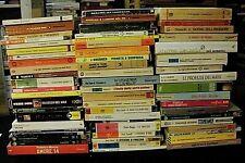 lotto stock di 62 libri copertina morbida narrativa letteratura / titoli in foto